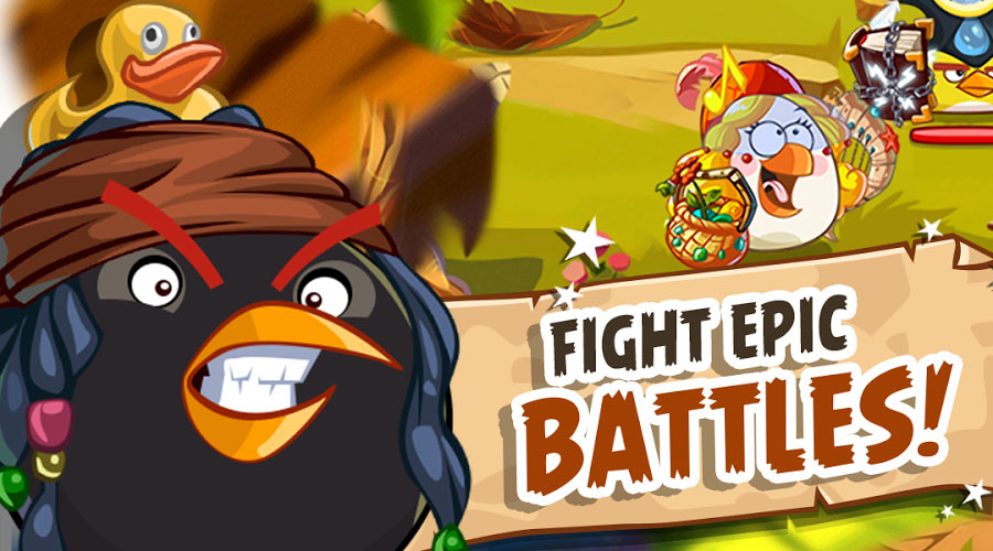 Angry Birds battles