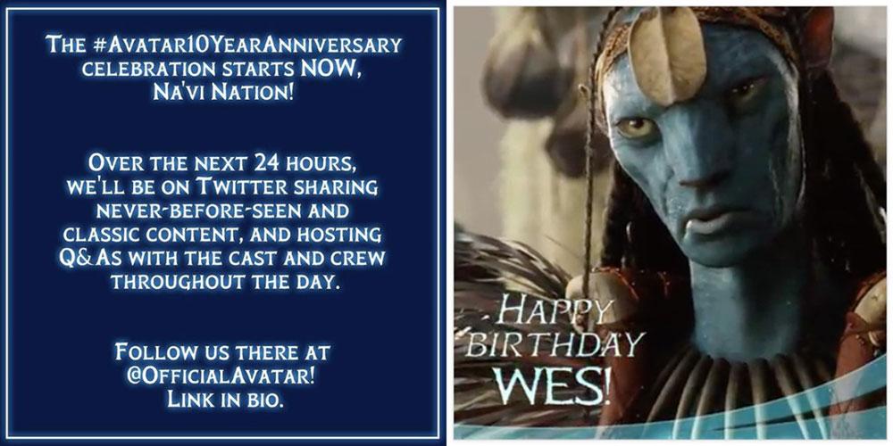 Avatar birthday