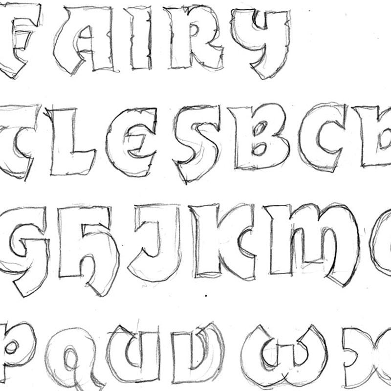 Fairy Tale sketch
