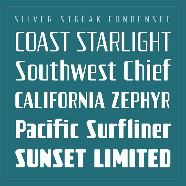 Silver Streak Condensed