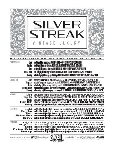 Spec sheet front