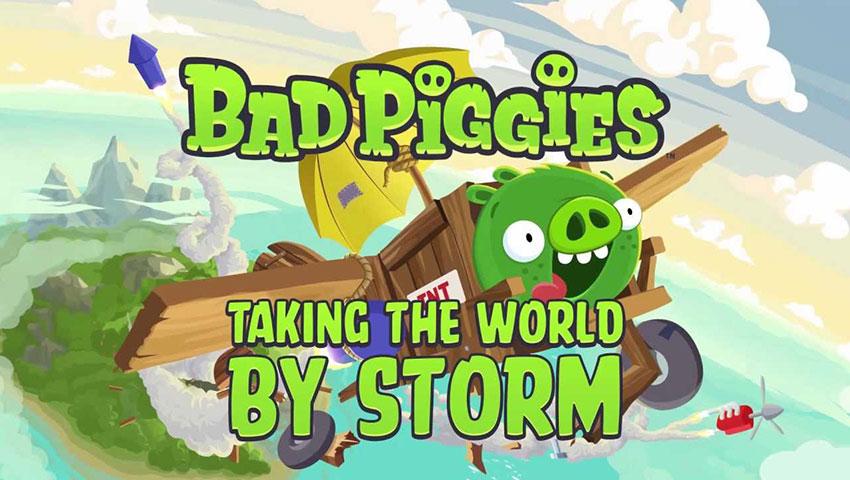 Bad Piggies ad