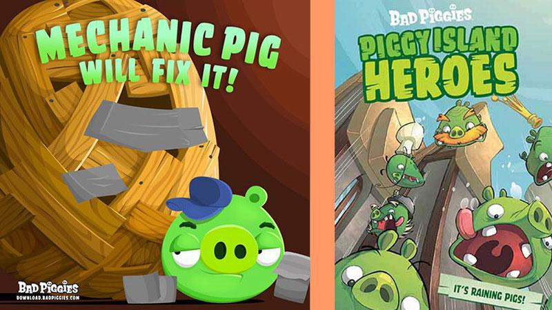 Bad Piggies mechanic