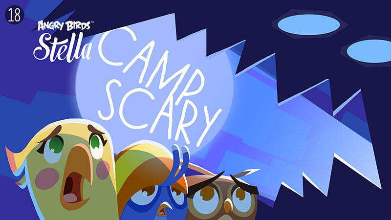 AB Stella camp scary