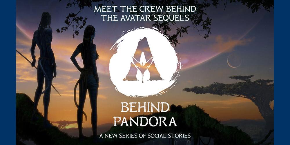 Avatar behind pandora
