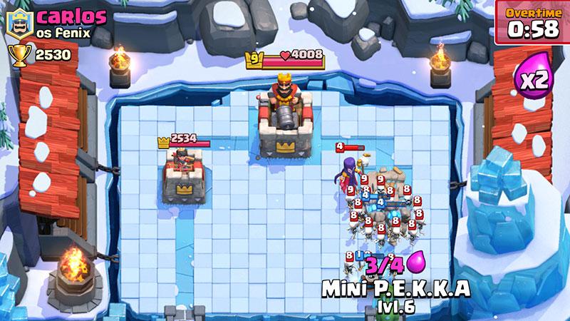 Clash ice