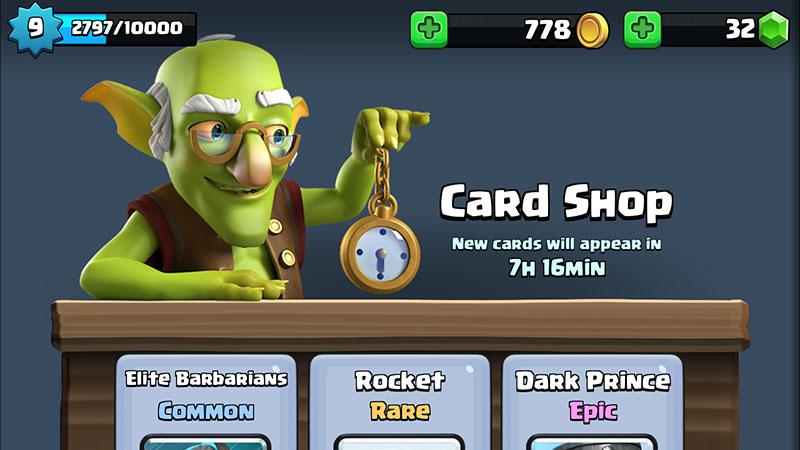 Clash shop