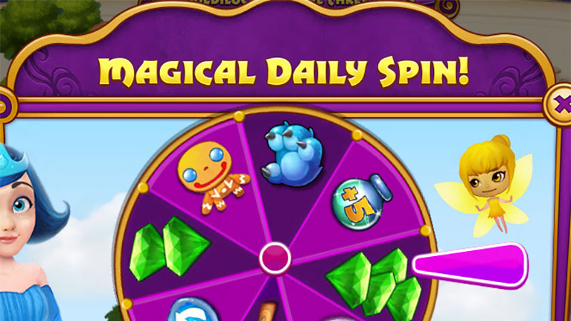 Fairy Tale daily spin