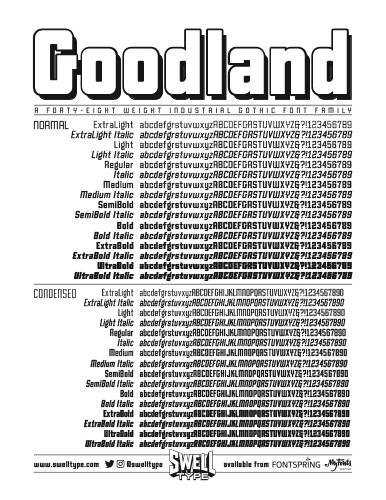 Goodland spec sheet