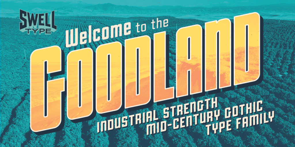 Goodland font