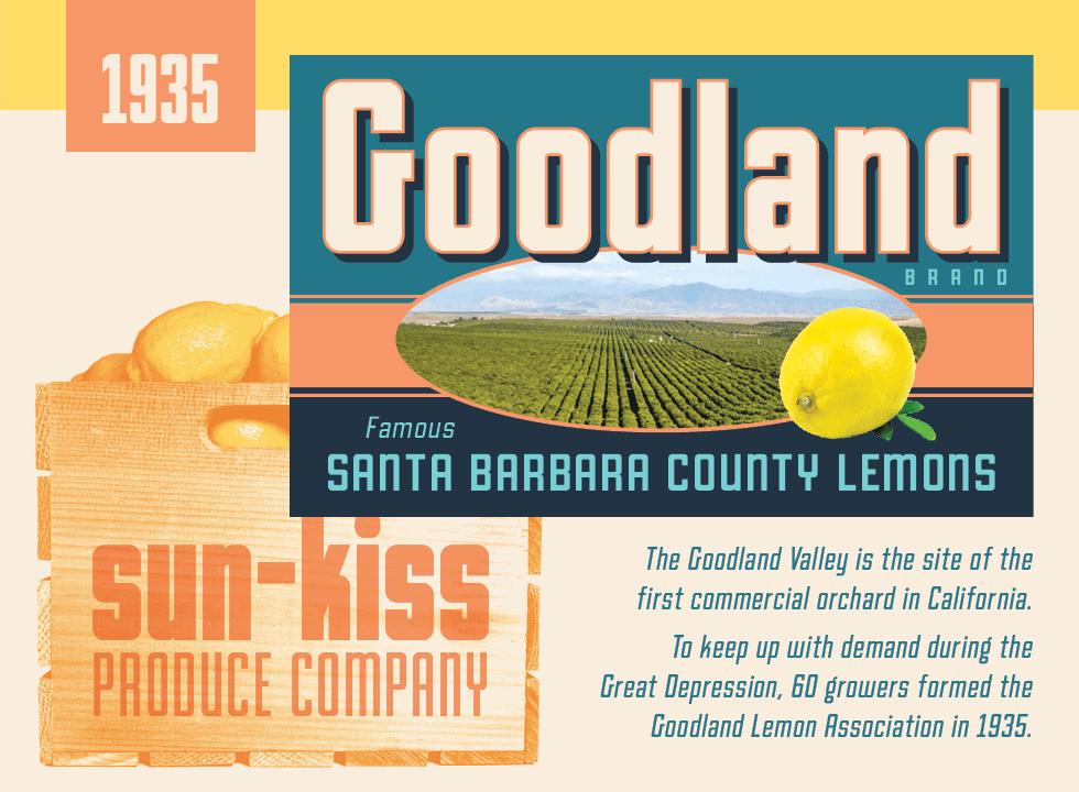 Goodland fruit labels