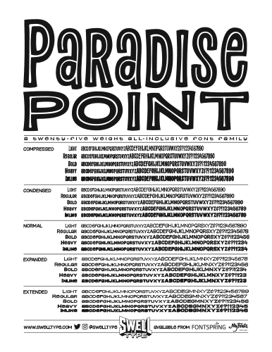 Paradise Point specsheet