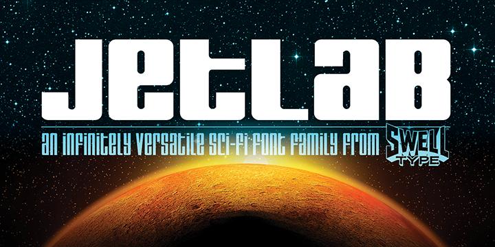 Jetlab font family